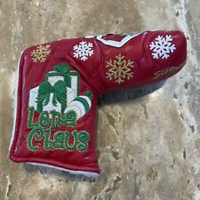 New Scotty Cameron 2009 Lena Claus Holiday Blade Putter Headcover Rare!