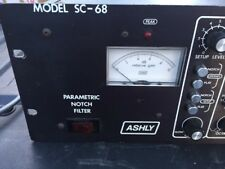 Ashly Model SC-68 Parametric Notch Eq Filter Vintage Rack Console