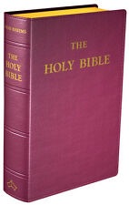 Douay-Rheims Bible (Standard size, Flexible cover, Burgundy Leather)