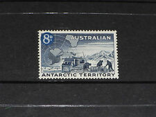 AUST 1959 AAT 8D BLUE TRACTOR ISSUE VERY FINE M/N/H PO FRESH