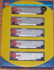 ATHEARN 97001 BETHGON COALPORTER KANSAS CITY POWER LIGHT 5-PACK KCLX