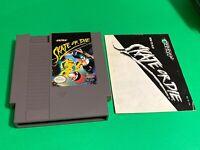 🔥 💯 WORKING NINTENDO NES CLASSIC ARCADE GAME + MANUAL - ULTRA - SKATE OR DIE