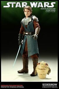 """ORDER OF THE JEDI: 12"""" GENERAL ANAKIN SKYWALKER - SIDESHOW EXCLUSIVE - NEW"""