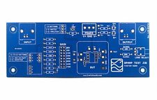 OpAmp Test Jig PCB for PDIP8, 2520, 990, Discrete OpAmp by FiveFish Audio
