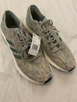 Adidas Pure BOOST Men's Running Sneakers Shoes Multi Color Size 13  AQ0051