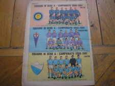 INTER FIORENTINA LAZIO 1960/61 SQUADRE CORRIERE PICCOLI SERIE A