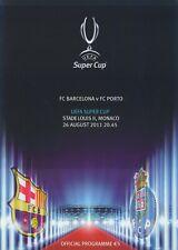 UEFA Super Cup 2011 - FC Barcelona - FC Porto 2-0 DVD Full Match