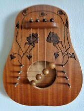 HARRARI HARPS handcrafted wooden door harp signed by Micah Harrari Jerusalum