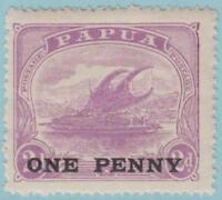 Papua 75 Mint Hinged OG * - No Faults Very Fine!!!