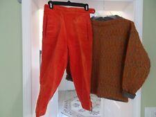 Alpine House (W. Germany) Whale Welt Corduroy Knickers with Wool Sweater