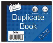 Half Size Duplicate Book Notebook