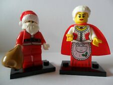 Santa Clause & Mrs. Clause Mini FIgures