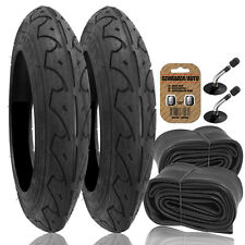 2x Pram REAR Tyres + Tubes - To fit 12 1/2 x 2 1/4 QUINNY FREESTYLE - RRP £49.99