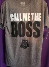 $25 Darth Vader call me the boss t-shirt