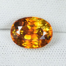 4.06 ct DAZZLING - ORANGE MULTI SPARKLING - NATURAL SPHELARITE - See Vdo_ 4669 H