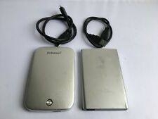 "2x disco duro externo intenso & verbatim PC-disco duro 2,5"" 500gb plata 2er-set"