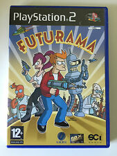 Futurama ps2 playstation 2 game