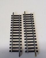 DE6) 2 rails droits courts 111 mm jouef 475/2 pour train electrique HO