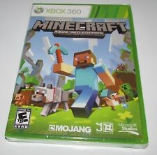 Minecraft for Xbox 360 Brand New! Factory Sealed!