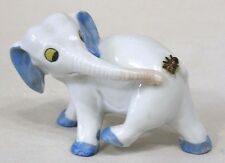 Vintage Porcelain Elephant Figurine with Fly on Butt Made in Germany CUTE!!!