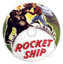 Flash Gordon - Rocket Ship (1936) Buster Crabbe Movie on DVD