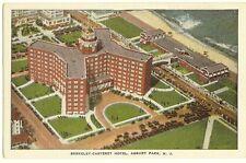 Asbury Park Nj - Berkeley Carteret Hotel Postcard - circa 1930's birds eye view