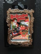 Disney Framed Pin main street USA Railroad sold out Limited to 500