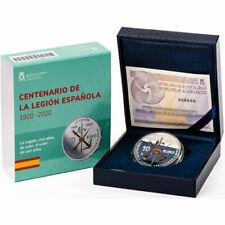 ESPAÑA 10 EURO CENTENARIO DE LA LEGION ESPAÑOLA 2020 PLATA - agotada