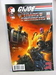 GI Joe Vs Transformers II #2 DDP Devils Due Comic