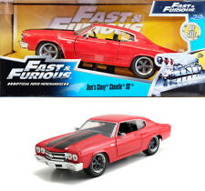 Chevy Chevelle SS Fast & Furious Dom Chevrolet Rot Red 1:24 Jada Toys 97193