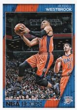 Russell Westbrook 2016-17 Panini Hoops Basketball Trading Card, #131