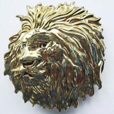 Buckle Löwe, Löwenkopf, Lion, Lionhead, Gürtelschnalle