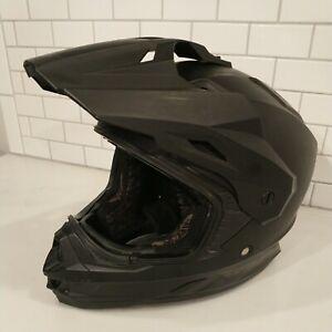Fly Racing helmet black Matt motocross kart motorcycle Size Medium