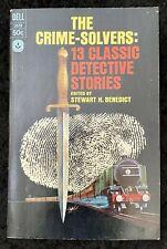 The Crime Solvers 13 Classic Detective Stories PB 1966 Edgar Allan Poe +13