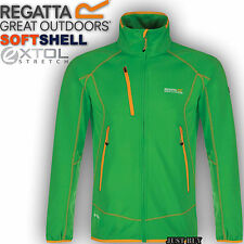 Regatta Mens Jacket Sumatra Softshell Fleece Hiking Outdoor Work Walking Gym Top