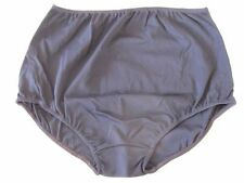Nylon Patternless Plus Size Shorts for Women