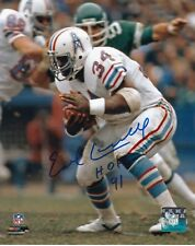 EARL CAMPBELL HOUSTON OILERS SIGNED AUTOGRAPH 8X10 PHOTO