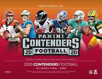 2020 Panini Contenders Football Hobby Box Factory Sealed 5 AUTOS HERBERT?