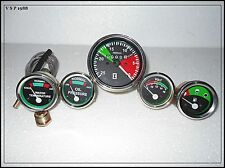 Massey Ferguson Gauge Kit- Tachometer + Temp Gauge + Oil Pressure + Volt+ Fuel