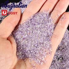 5000 Pcs Purple Amethyst Tumblestones Mini Chips Crystal Gemstone Bulk 1mm-3mm