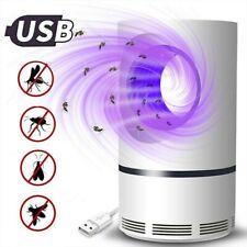 Anti moustique Lampe UV LED Répulsif Tueur de Moustiques, Piège Pas toxique,