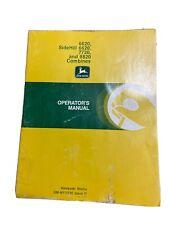 John Deere 882077206620 Omh111330 Combine Operators Manual