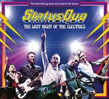 Status Quo - Last Night Of The Electrics (NEW 2 x CD, DVD & BLU-RAY)