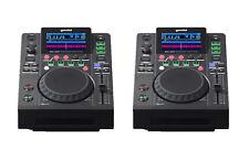 (2) OPEN BOX - GEMINI MDJ-600 - PRO DJ MEDIA PLAYERS - CD / MP3 / USB Auth DLR