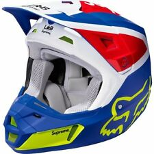 🔥 Supreme / Fox Racing V2 Helmet - Multicolor - Medium - Ready 2 Ship!🔥