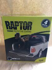 Upol Raptor Black Bed Liner, 2 Pack Urethane Protective Coating 4 Bottle Kit Ute
