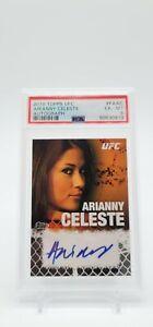 2010 Topps UFC Round 4 Arianny Celeste 2nd Auto Black /88  PSA 6