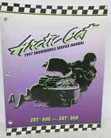 1997 Arctic Cat ZRT 600 ZRT 800 Snowmobile Service Manual Shop Repair