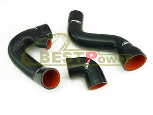 Silicone Turbo Intake Hose For 02 03 04 05 Audi A4 B6 VW Passat B6 1.8T BLACK