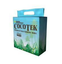 General Hydroponics 5 kg CocoTek Brick Bale Coir Fiber Soilless Media BAY HYDRO